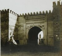 Marocco Foto Stereo PL52P5n2 Placca Da Lente Vintage