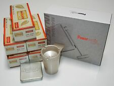 Powermatic 150 Black Cigarette Machine +5 FF Tubes, Tin, Ashtray&more,