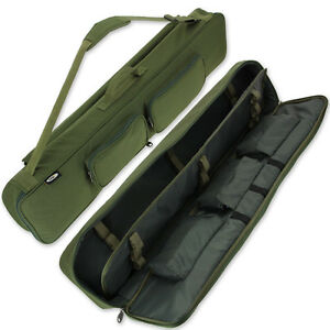 Deluxe Padded Travel Fishing Rod Holdall Ideal For Holiday Carryall Case Bag