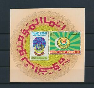 LO41667 Pakistan 1974 islamic summit imperf sheet MNH