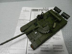 Built 1/35 T-80