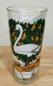 Vintage Pepsi 12 Days of Christmas Glass 7th Day Replacement