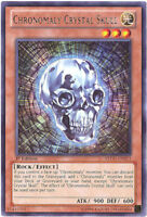 3 x Yu-Gi-Oh Card - REDU-EN013 - CHRONOMALY CRYSTAL SKULL (rare) - NM/Mint