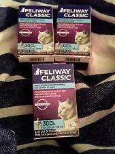 New listing 3 Feliway Classic Cat Diffuser Refills - 48 ml Calming Lot of 3 exp 12/20