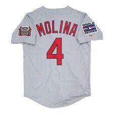 Yadier Molina St. Louis Cardinals 2006 World Series Road Jersey Men's (M-2XL)