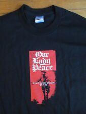 RARE vintage Our Lady Peace Tour tee shirt Canadian Rock XL Paranoid times NWOT