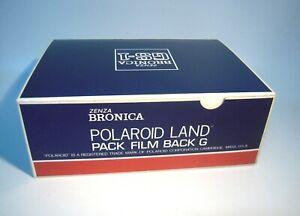 New Zenza Bronica GS-1 Polaroid Land Pack Film Back G/ ship FedEx—M3
