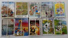 BHUTAN Disney Cartoon, 10 Different x 100 each, MNH, Large Size, KILOWARE