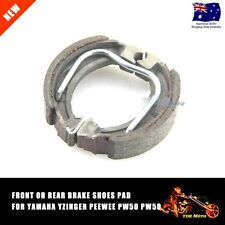 PW50 YAMAHA  BRAKE SHOES PADS  FRONT OR REAR PY50 YZINGER PEEWEE 50CC