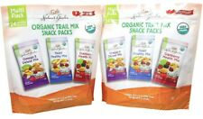 2 Packs Nature's Garden Organic Trail Mix Snack Packs 24 ct 28.8 oz Each Pack