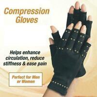 Copper Hands Therapeutic Compression Gloves 2 Arthritis Heal Promote Circulation