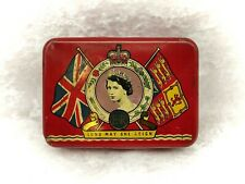 More details for vintage oxo cubes tin-queen elizabeth ii coronation 1953-excellent condition