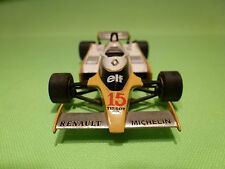 METAL BUILT KIT TENARIV 3 RENAULT RE20 TURBO F1 - JABOUILLE ELF 1:43 - RARE -