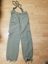 Patagonia PCU Level 5 Military Pants Gen II Army Issued Large/Reg Suspenders NWT
