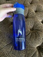 One World Observatory NYC Collectible Tumbler Water  Bottle Souvenir New $49