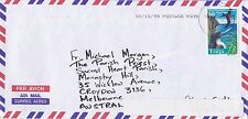 BD220) Tonga. OHMS Air mail cover bearing: Birds. Price: $6