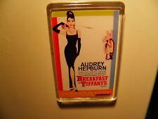 BREAKFAST AT TIFFANYS           FILM POSTER FRIDGE MAGNET