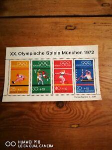 briefmarken olympische spiele 1972