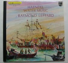 HAENDEL (LP 33T) WATER MUSIC - RAYMOND LEPPARD ENGLISH CHAMBER ORCHESTRA