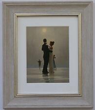 Dance Me hasta el final del amor por Jack Vettriano Enmarcado & montado Art Print Gris