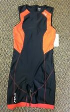 2Xu Mens Compression Triathlon Padded Tri Suit Sleeveless, Size Xlg Red/Black