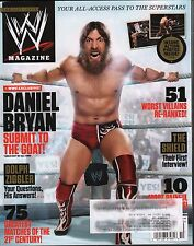 WWE Magazine October 2013 Daniel Bryan, The Shield w/ML EX 121115DBE