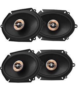 "4X INFINITY KAPPA-86CFX 6X8"" 2-Way Car Audio Multi Element Speakers -BRAND NEW"