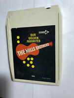 OUR GOLDEN FAVORITES THE MILLS BROTHERS 8 TRACK TAPE