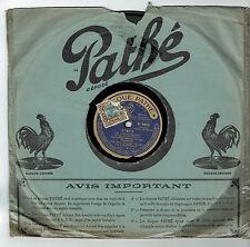 78T SAPPHIRE Mme Carmen VILDEZ Eldorado Disk Sound AIMER Sung PATHE 4870 RARE