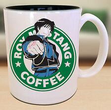 Roy Mustang Fullmetal Alchemist Starbucks Anime Manga Japanese Insipred Nerd Mug