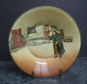"""Royal Doulton Dickensware Saucer/Trinket dish - """"Mr Squeers"""""""