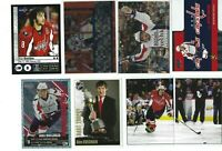 ALEXANDER OVECHKIN 19 different Hockey cards inserts + 5 Panini stickers LOT OVI