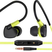 3.5mm Jack Stereo Earbuds Handsfree Earphones Headphones With Mic iPhone Samsung