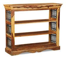 Living Room Furniture Jali Light Sheesham Side Low Bookcase (j15l)