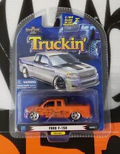 "1 Badd Ride Truckin' Series 1 * Ford F-150 * #Tk64-0601 1:64 "" Orange """