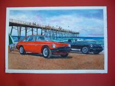 MGB MGB-GT rubber bumper British sports car Original Painting