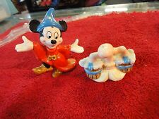 Disney Fantasia Sorcerer  Mickey Mouse Magical Broom Salt and Pepper Shaker Set