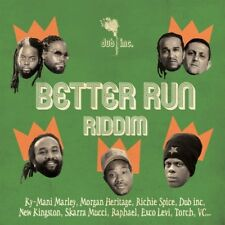 DUB INC. - better run RIDDIM CD NEUF