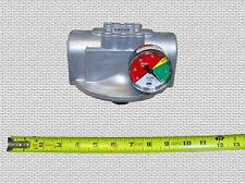 Waste Oil Heater Parts Hydraulic fuel oil filter head w/gauge LENZ CP-1281