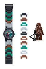 LEGO Star Wars Chewbacca Para Armar Reloj Verde/Negro Nuevo En Caja