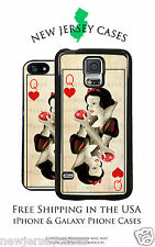 Disney Snow White Queen of Hearts Playing Card For iPhone & Galaxy Phone Case