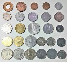 COLLECT  BRITISH & INDIAN 27 COINS.1,2,3,5,10,20,25,50 NP COINS. IN LOWEST PRICE