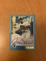 2020 Topps Archives - Ray Durham - Blue Fan Favorites Auto Parallel #'d 02/25