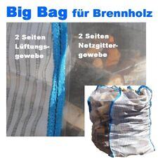 10 x Holz Big Bag 100x100x120cm Holzbag für Brennholz Woodbag vom Hersteller