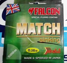 FALCON MATCH SPECIAL FLUORO COATING SINKING 0.16mm 3.600kg 500m MADE IN JAPAN