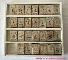 27 x Vintage Brymay Australia Redheads Match Covers OLYMPIC GAMES MELBOURNE 1956