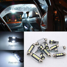 10PC White LED Light Interior Package kit for Audi A4 Quattro B5 1998-2001