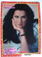 VERONICA HAMEL / Rare Collectable MINI POSTER # 29 printed in Spain 80s - Unused