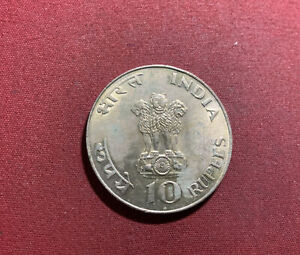 Indien 10 Rupien 1969 Silber