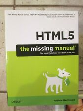 HTML5 The Missing Manual by Matthew MacDonald Trade Paperback New TPB